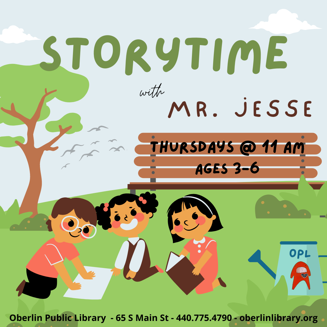 Storytime with Mr. Jesse
