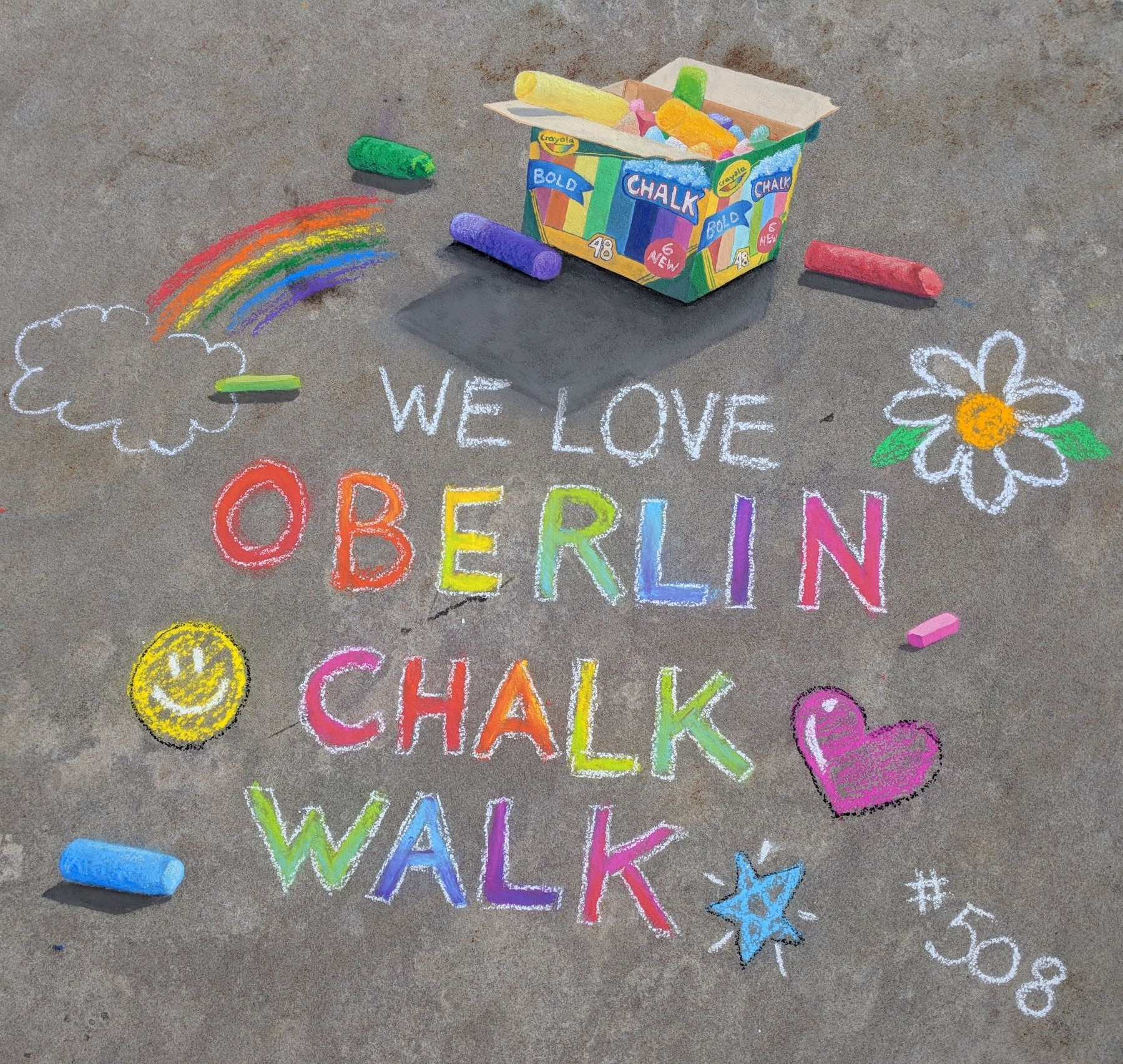 Oberlin Chalk Walk